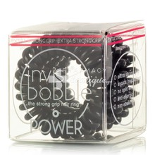 Invisibobble Power - True Black, 3τμχ