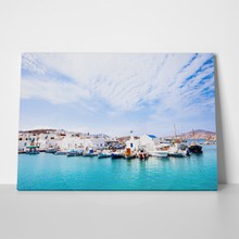 Beautiful naousa village paros island cyclades 400011364 a