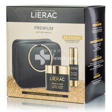 Lierac Σετ Premium Cream Soyeuse (Light Texture), 50ml & Δώρο Eye Cream Regard, 15ml