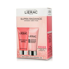 Lierac GIFT PACK Supra Radiance Double Peeling Mask 75ml & ΔΩΡΟ Hydragenist Masque Sos Hydratant  75ml.
