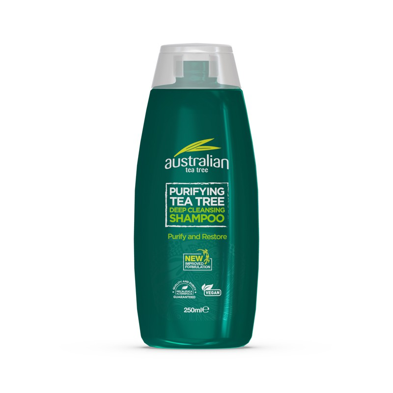 Australian Tea Tree Purifying Deep Cleansing Shampoo
