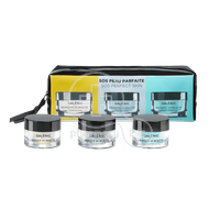 GALENIC - PROMO PACK SOS PEAU PARFAITE MASQUES DE BEAUTE Warming Detox Mask - 15m, Quenching Hydrating Mask - 15ml & Cold Purifying Mask - 15ml