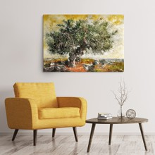 Olive tree painting a