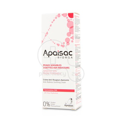 BIORGA - APAISAC Anti-Redness Soothing Cream (sensitive skin) - 40ml