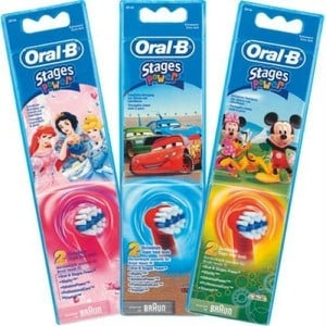 Oral b stages