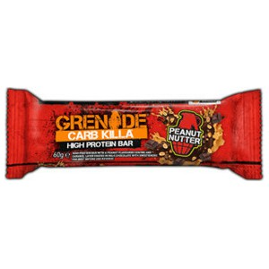 Grenade carb killa 21g high protein bar 60gr peanut nutter