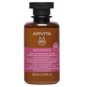 APIVITA Intimate plus με tea tree & πρόπολη 200ml