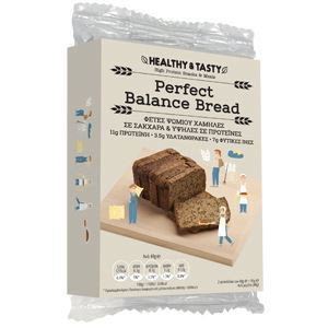 Perfect balance bread fetes psomiou 2 x 48gr enlarge