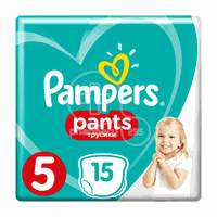 PAMPERS - Pants No5 (12-18kg) - 15τεμ.