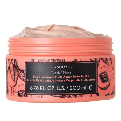 Korres - Peach Dual Hualuronic Multi Action Body Souffle - 200ml