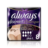 ALWAYS - DISCREET Boutique Plus Large - 8pants