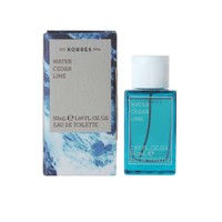 KORRES EDT MEN WATER-CEDAR-LIME 50ML