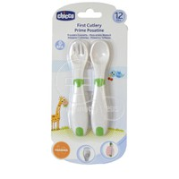 CHICCO - First Cutlery 12m+