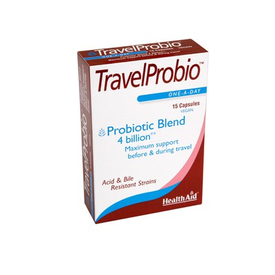 Health aid - Travel Probio - 15vecaps