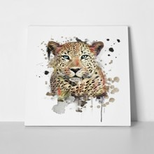 Leopard watercolor 250333369 a