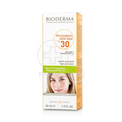 BIODERMA - PHOTODERM AKN MAT Fluide SPF30 - 40ml Oily/Acne prone skin