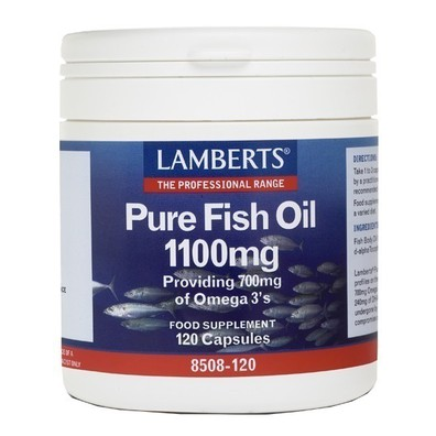 Lamberts pure fish oil 120s