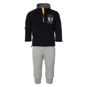 Boys Badge Top&Trousers Set