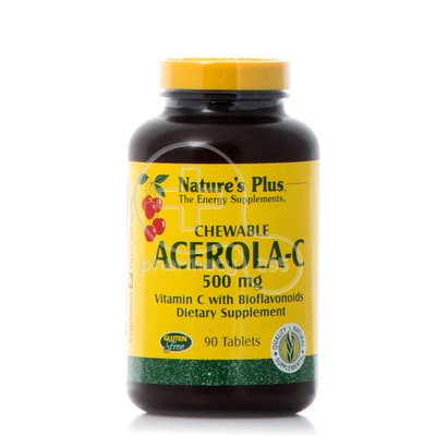 NATURE'S PLUS - Acerola C 500mg - 90chew.tabs