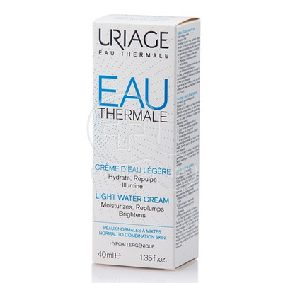 URIAGE - EAU THERMALE Creme D'Eau Legere - 40ml