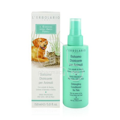 L'ERBOLARIO - AMICI FEDELI Detangling Conditioner for Pets - 150ml