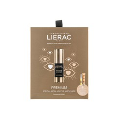 Lierac Promo Premium Eye Cream - Αντιγηραντική Κρέμα Ματιών, 15ml & Δώρο Cica Filler, 10ml  + Sunissime Visage, 10ml
