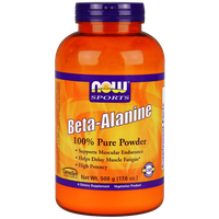 NOW SPORTS BETA-ALANINE 100% PURE POWDER, 500 GR