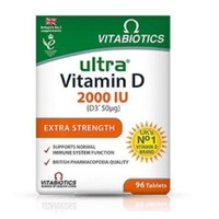 VITABIOTICS VITAMIN-D ULTRA 2000IU (D3 50μGR) 96TABL