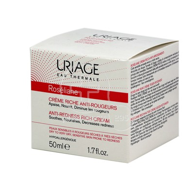 URIAGE - ROSELIANE Creme Riche Anti Rougeurs - 50ml