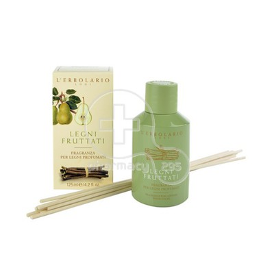 L'ERBOLARIO - LEGNI FRUTTATI Fragnance for Scented Wood Sticks - 125ml