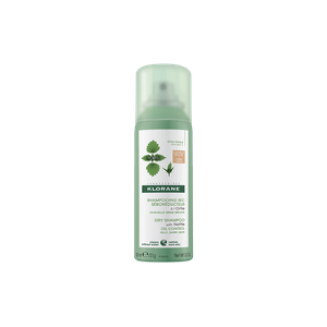 Klorane dry shampoo with nettle oily dark hair