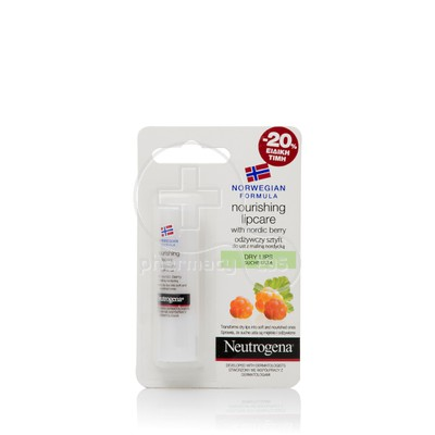 NEUTROGENA - Lip Moisturizer with Nordic Berry - 4.9gr