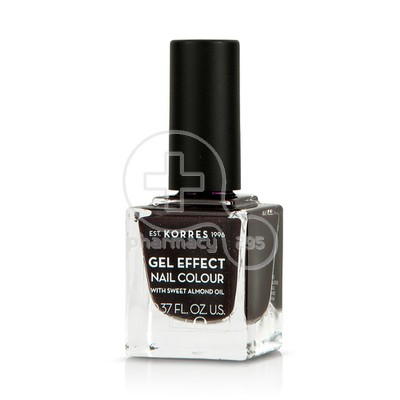 KORRES - GEL EFFECT Nail Colour No77 Sequins Plum - 11ml
