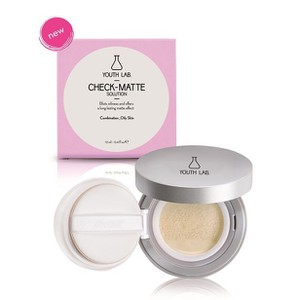 Youth lab check matte solution compact combination oily skin