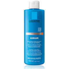 La Roche Posay Kerium Doux Extra Gentle Cream Shampoo For Dry Hair 400ml