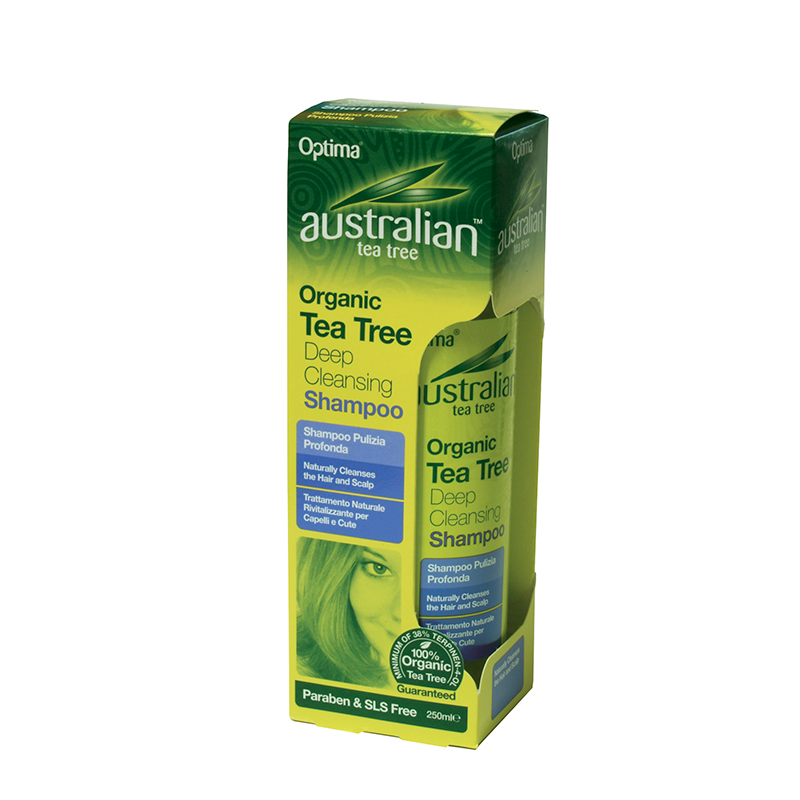 Australian Organic Tea Tree Deep Cleansing Shampoo