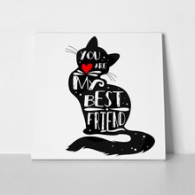 Best friend cat 523581769 a