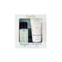 INALIA SUNSCREEN FACE SPF50 50ML (PROMO+MICELLAR WATER 50ML)