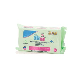 Sebamed Baby Cleansing Wipes Gentle Mildness Μωρομάντηλα 72 τεμάχια
