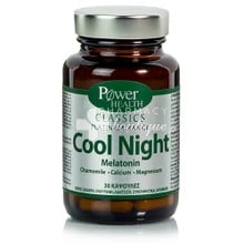 Power Health Platinum COOL NIGHT - Αϋπνία, 30caps