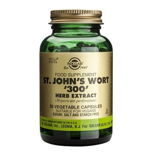 SOLGAR St. Jonh's wort herb extract 300mg 50vegetable capsules