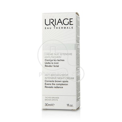 URIAGE - DEPIDERM Creme Nuit Intensive Anti-Taches - 30ml
