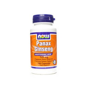 Now foods panax ginseng 520 mg