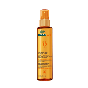 NUXE Sun tanning oil for face & body Spf10 150ml