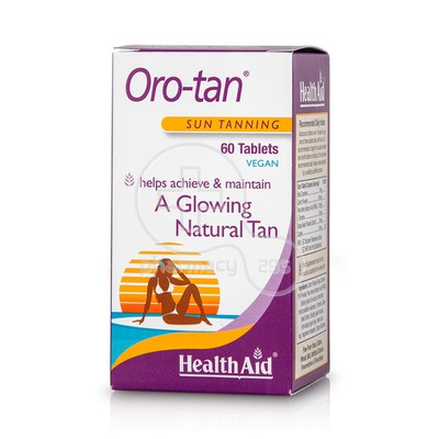 HEALTH AID - Oro-Tan - 60tabs