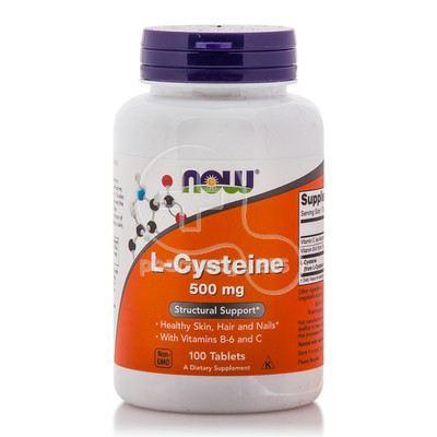 NOW - L-Cysteine 500mg - 100tabs