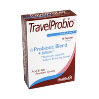 HEALTH AID TRAVEL PROBIO 15VCAPS