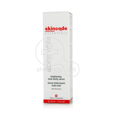 SKINCODE - ALPINE WHITE Brightening Total Clarity Serum - 30ml