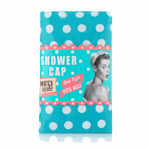Dirty works shower cap
