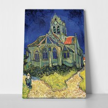 Van gogh church at auvers a